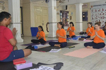Intensive Yoga Therapy Teacher Training Certificate Course