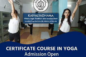 Certificate Course in Yoga (CCY)