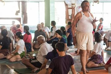 Yoga Workshop with Prashant S. Iyengar