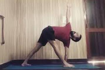 Yoga classes with Sumit